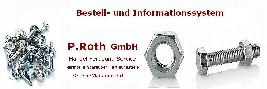 P.Roth Bestell- und Informationssystem